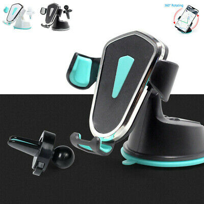 Universal 360° Gravity Car Holder Air Vent Dashboard Mount GPS Stand For Phones