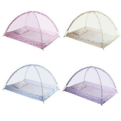 Foldable Infant Baby Bed Anti-Mosquito Net Travel Cot Tent Crib Mattress Decor