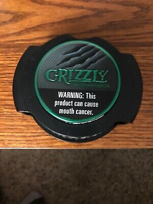 GRIZZLY SNUFF TOBACCO fishing can - $10 00 | PicClick