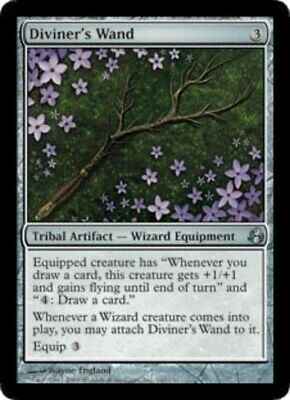 1x - Diviner's Wand NM, English MTG Morningtide