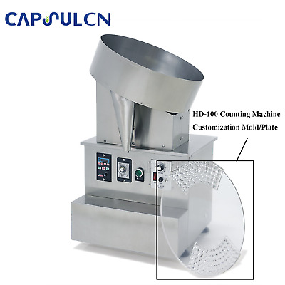 Mold-HD-100 Counting Machine Customized Mold/Plate Plus DHL/FedEx Shipping