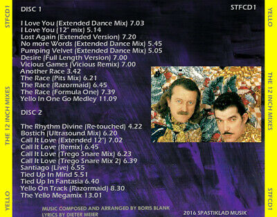 YELLO  Extended & Alternate Versions  (23 Remix Tracks) Synth-pop / Depeche Mode