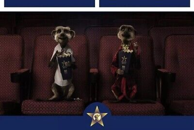 2 For 1 MEERKAT MOVIES CINEMA CODE VALID Tue 9th Or Wed 20th July One Free