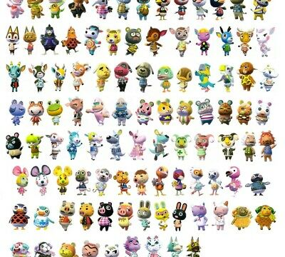 Animal Crossing: New Leaf (3DS) Pick YOUR TWO Favorite Villagers! + Extras!