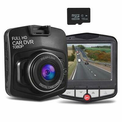 Mini Dash Car Camera Recorder-Full HD 1080P With 16GB SDCard included,Built in G