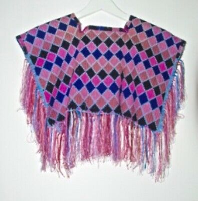 Hand Woven Mexican Poncho