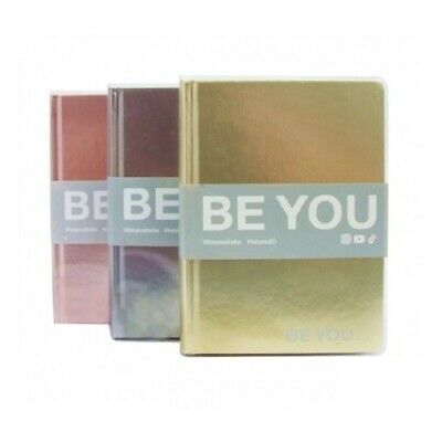 Be-You Diario Datato Be-You Metal Color 13x18cm 1pz