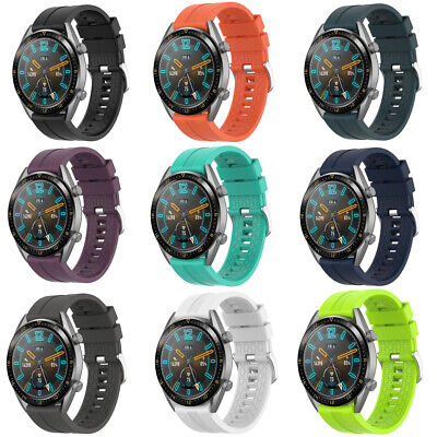 22mm Silicone Replacement Wrist Watch Band Strap For Huawei Watch GT Active