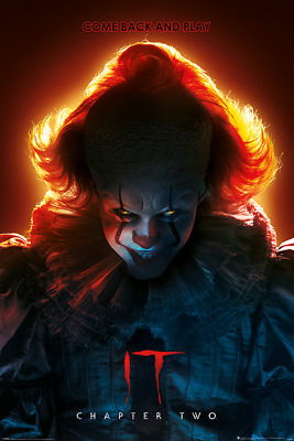 It Chapter 2 Come Back And Play Stephen King 91.5X61Cm  Poster New Official