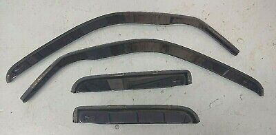 Jeep Cherokee Kj 2002-2007 N/S & O/S Near/Off Side Window Wind Deflectors Set