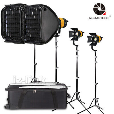 50Wx2+80Wx2+Stand+Umbrella+Softbox+Spot Led Light For Video Studio Photography