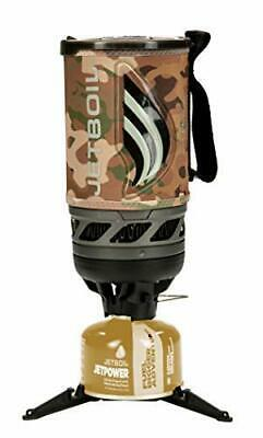 Camo MOD MTP Jetboil Flash Personal Cooking System Camping Stove Gas Cooker Tent