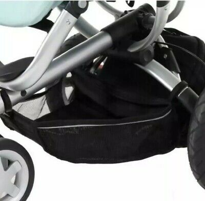 Quinny Buzz Xtra Moodd Shopping Basket in Black Excellent Condition Black