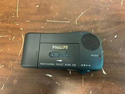 philips professional pocket memo 398