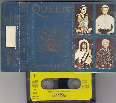 Queen Greatest Hits Ii Cassette Tape Croatia