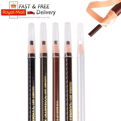 Eyebrow Pencil  Microblading SPMU Outlining Marking Pen Brow Liner Peel- Off UK