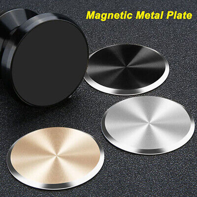 Metal Plate Disc for Cell Phone Magnet Holder Magnetic Car Mount Sticker Sheet