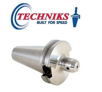 Techniks CT40 3/4 Stubby Length CAT40 End Mill Holder AT3 Ground 22921-1.75