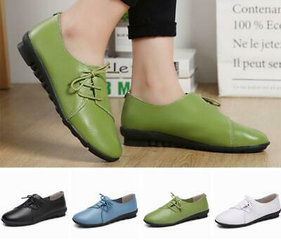 Women Ladies Moccasin Lazy Shoes Slip On Loafers Strappy Flat Pumps Office Shoes