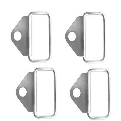 4PK Lashing Ring Stainless Steel Tie Down Points Anchor Boat Truck Trailer
