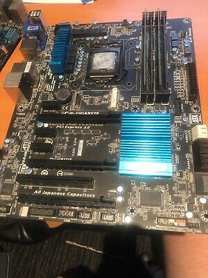 GA-Z77X-D3H With Intel i5 and 8GB Ram
