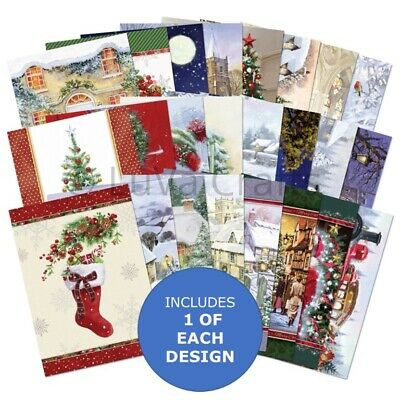 Hunkydory The Little Book of Stepping Into Christmas Sample Pack 24 A6 sheets