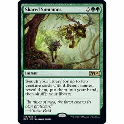 Shared Summons (foil) * Core Set 2020 * Magic: The Gathering