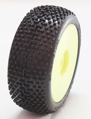 Gomme Tire 1/8 BUGGY SP RACING DEMOLITION COMPETION XSS incollate SP08900 1cp