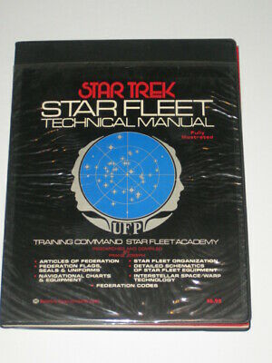 Star Trek Star Fleet Technical Manual 1975 Ballantine Books 1st Edition