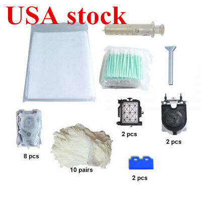 US Stock-Maintenance Kit for Roland XR-640 + 10 latex gloves + 2 wiper blades