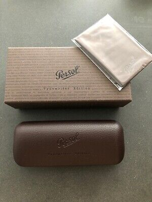 Persol Typewriter Edition Case And Cloth