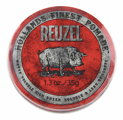 Reuzel Red Pomade Water Soluble 1.3 oz. Hair Wax & Pomade