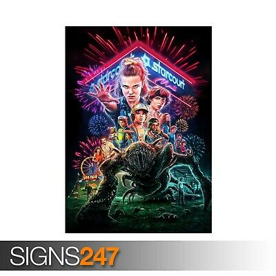 Stranger Things Steve Harrington TV Series Poster Print T213 A4 A3 A2 A1 A0|