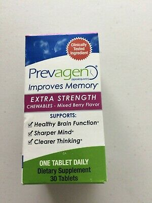 Prevagen Extra Strength Chewables Mixed Berry Flavor 30 Chewable Tablets