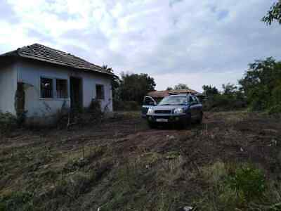Building Land With Derelict Bungalow  In Slavyanovo  Bulgaria Pay Monthly Plan