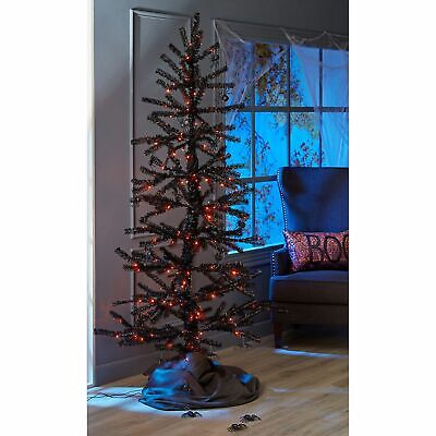 Member's Mark 7 Ft. Halloween Moving Tinsel Tree Haunted House Prop