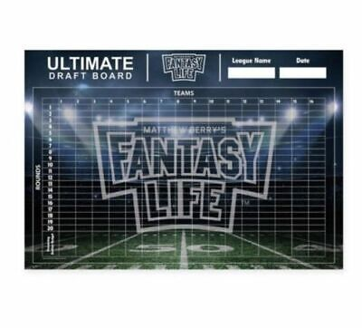 Matthew Berry's Ultimate Fantasy Football Draft Board W/stickers