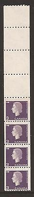 Canada MNH VF Sc# 407 - Issue May 2, 1963 - 3c Cameo Paste-up 4+4 (ES00197)