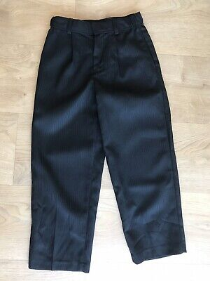BNWOT Boys BHS Black Smart Suit Trousers Age 6 years Formal Never Worn Wedding ?