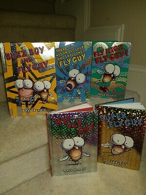 Lot Of Five Fly Guy Children's Books By Ted Arnold