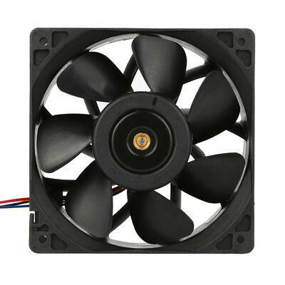 6Pcs 6000RPM Cooling Fan Replacement 4-pin For Antminer Bitmain S3 S5 S5 S7 S9