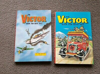 Victor Book For Boys Annuals 1972 & 1973
