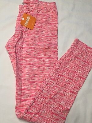 Gymboree NWT XL 14 Leggings Pants New Pink Active Solid Retail 12