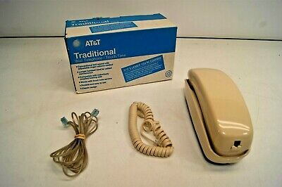 Vintage AT&T Western Electric Trimline Touch Tone Wall Telephone