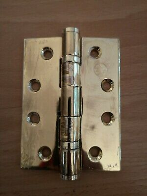 15 off Heavy Duty Commercial Grade Hinge - 4-inch 2 ball bearing / Brass