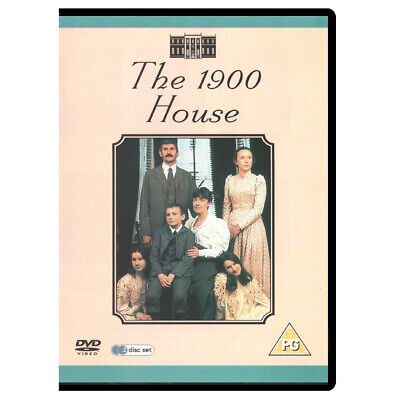 The 1900 House (2000) DVD, 2-Disc Docu-Series (New, Factory Sealed)