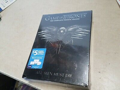 Game of Thrones: The Complete Fourth 4 4th Season (DVD, 2015, 5-Disc Set) SEALED