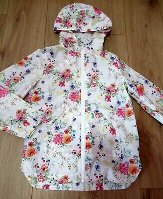 £35 jacket Girls NEXT Hooded Rain Coat Jacket mac 9 - 10 Years SUMMER WEIGHT