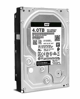Western Digital WD4005FZBX Black 4TB Performance Desktop Hard Disk Drive - 7200