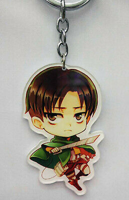 Anime Attack On Titan Levi Keychain USA SELLER!!! FAST SHIPPING!